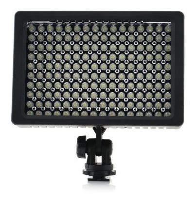 Iluminador Hd 160 Led Luminaria Luz Filmadora Video Dslr