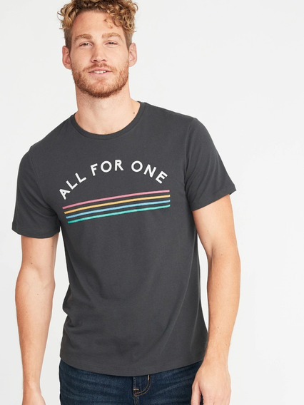 Remera Old Navy, Hombre, All For One, Original!!