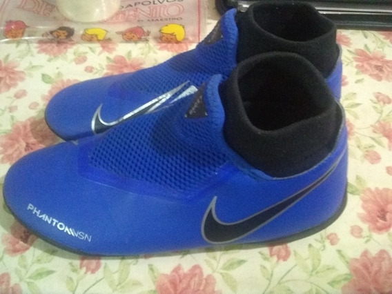 Botines Nike Phantom Vsn Azules