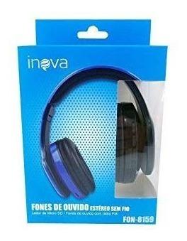 Fone De Ouvido Estério Sem Fio, Bluetooth + Rádio Fm!