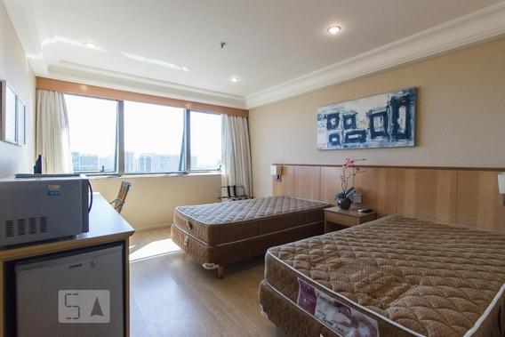 Studio No 19º Andar Com 1 Dormitório E 1 Garagem - Id: 892948693 - 248693