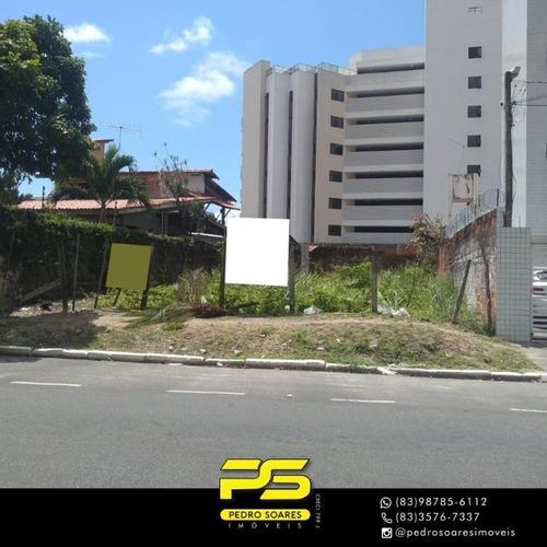 Imagem 1 de 1 de Terreno À Venda, 461 M² Por R$ 780.000,00 - Cabo Branco - João Pessoa/pb - Te0233