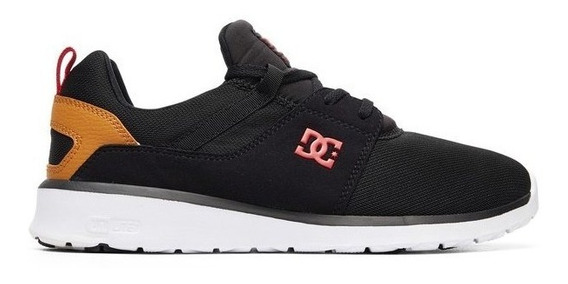 Tênis Dc Shoes Heathrow Adys700071 Preto/camel
