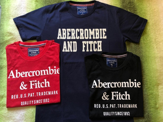 Remeras Estampadas Abercrombie And Fitch
