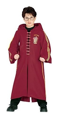 Toga De Quidditch Deluxe Harry Potter Mediano Tamaño 810