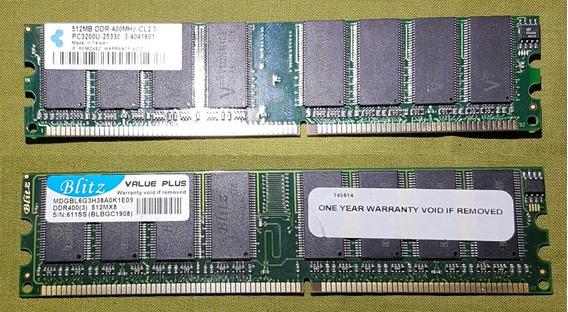 Memorias Ddr1 521mb 400 Mhz - Oem