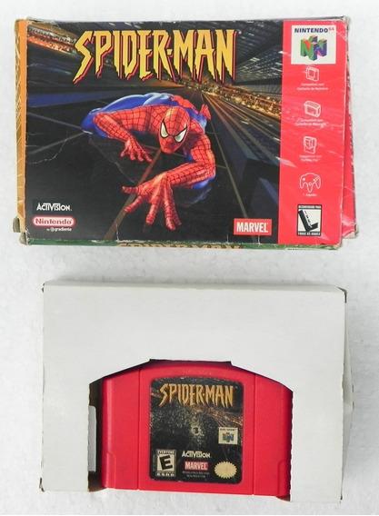 Jogo Spiderman - Americano - Nintendo 64 - Caixa Gradiente