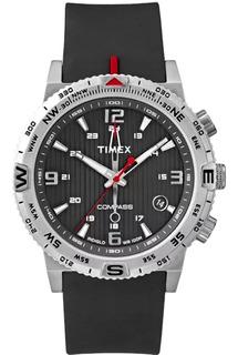 Reloj Timex Hombre Analogico T2p285 Brujula Luz | Envio