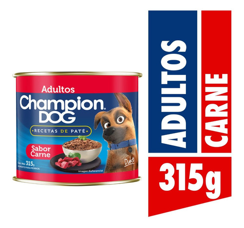 Champion Dog Recetas De Paté Carne 315g