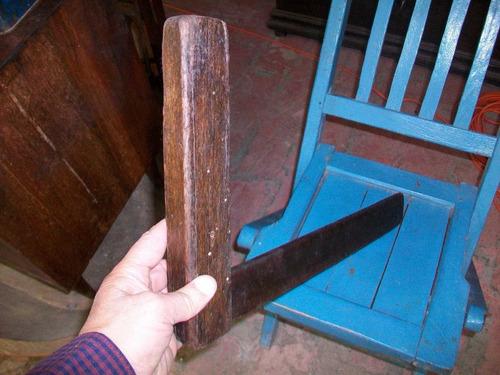Imagen 1 de 2 de Antigua Herramienta De Carpintería, Escuadra Madera 45 Ctms