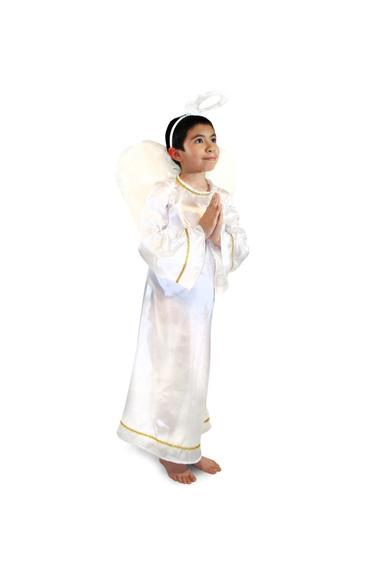 Disfraz De Ángel Niño Y Niña Talla 2 A La 12