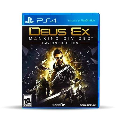 Deus Ex: Mankind Divided (usado) Ps4 Físico, Macrotec