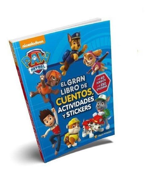 Paw Patrol Libro De Cuentos C/stickers Libro Para Niños 2028