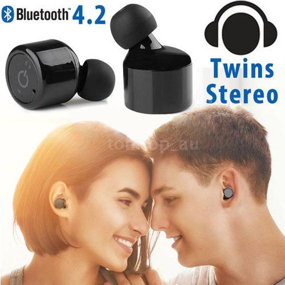 Fones Sem Fio Bluetooth Stereo X1t Alta Qualidade De Som