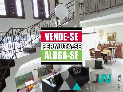Casa Com 5 Quartos Bem Distribuídos Em 400m² - Ca00058 - 31954016