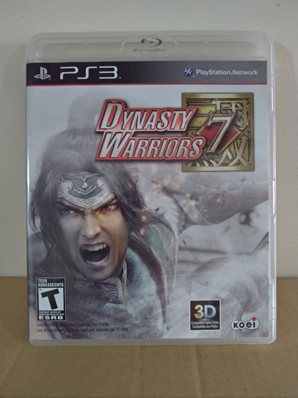 Ps3 Dynasty Warriors 7 - Usado