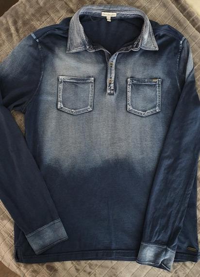 Playera Calvin Klein Jeans Original Hombre Talla: Ch