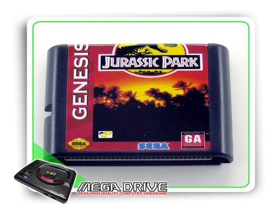 Jurassic Park Sega Mega Drive / Genesis - Novo