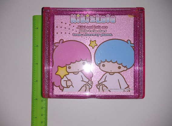 Porta Jóias Treco Plástico Colecionador Kiki&lala Sanrio