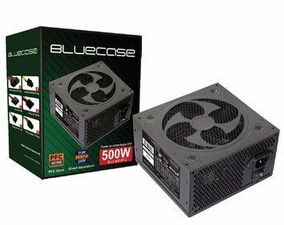 Fonte Bluecase Atx 500w - Pfc Active - Bivolt- Frete Gratis