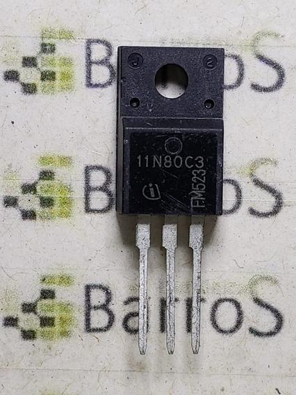 Transistor 11n80c3 - Spa11n80c3 - 800 V 11a To220 - Novo