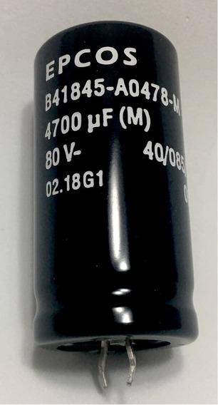01 Pç Capacitor Eletrolitico 4.700uf X 80v (epcos)