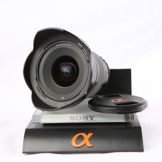 Lente Sony Dt 11-18mm F/4.5-5.6