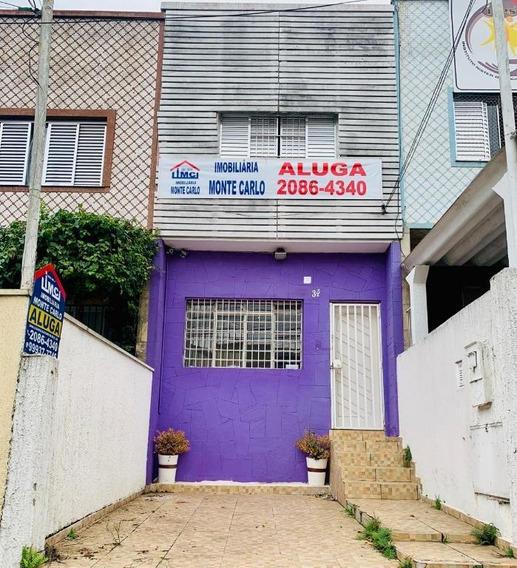 Sobrado Residencial Para Locação, Vila Rosália, Guarulhos. - So0047