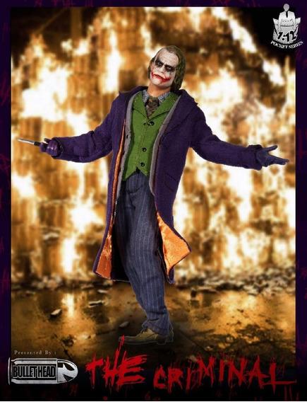 Bullet Head 1/12 The Criminal Figure - Joker