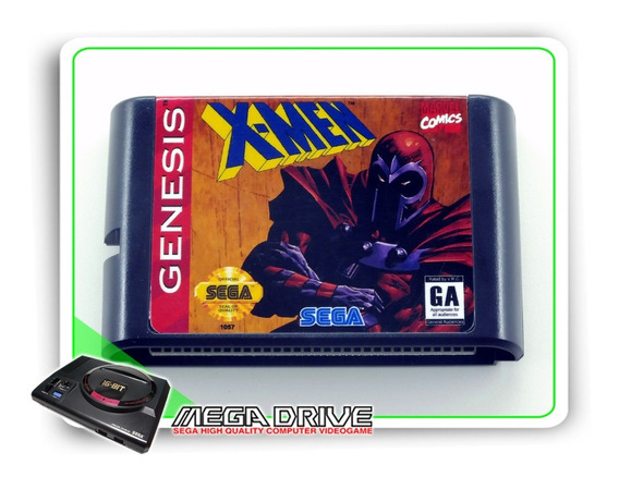 X-men Sega Mega Drive / Genesis - Novo