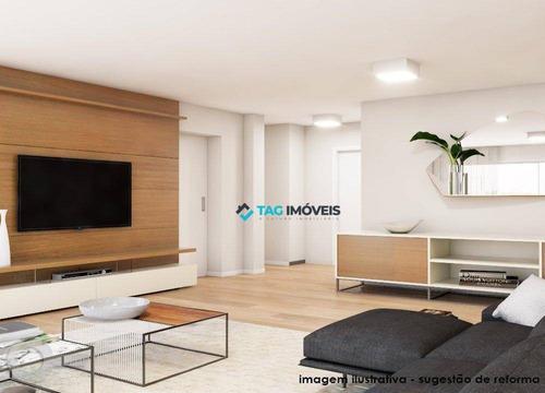 Apartamento Com 4 Dormitórios À Venda, 269 M² Por R$ 3.410.000,00 - Pacaembu - São Paulo/sp - Ap1639