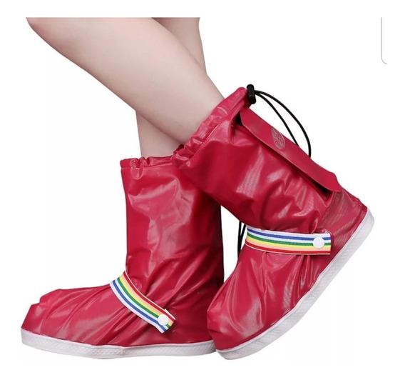 Botas Cubre Calzado Para La Lluvia
