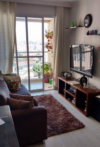 Apartamento Com 3 Dormitórios À Venda, 60 M² Por R$ 320.000,00 - Vila Ema - São Paulo/sp - Ap1981