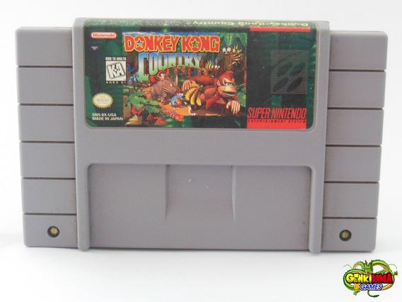 Snes Donkey Kong Country 1 Super Nintendo