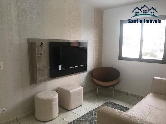 Apartamento Com 2 Dormitórios (01 Suíte) Todo Mobiliado Com Eletrodomésticos À Venda, 57 M² Por R$ 298.000 - Vila Alpina - Santo André/sp - Ap1211