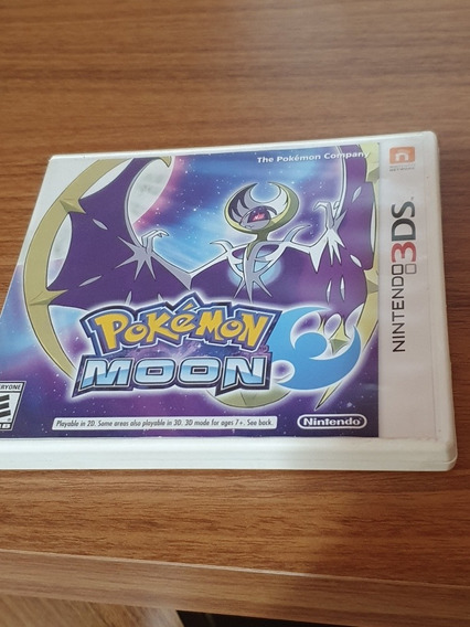 Pokémon Moon 3ds Usado