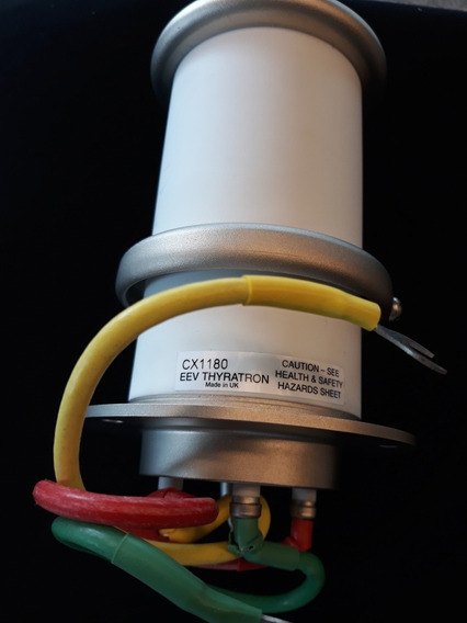 Válvula Hidrogênio De Cerâmica Thyratron Cx1180 - E2v