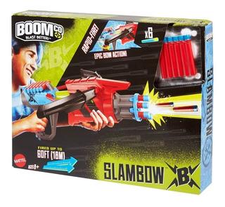 Boomco Pistola Lanza Dardos, Mattel Bestoys