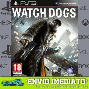 Watch Dogs Ps3 Psn Midia Digital Em 10 Min!