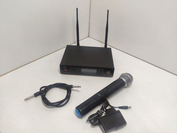 Microfone Jwl Sem Fio Uhf - Digital U-80 Igual Shure