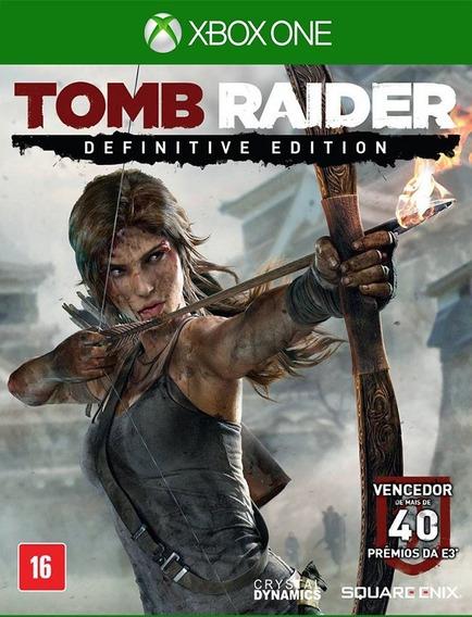 Tomb Raider Definitive Xbox One - 25 Dígitos (envio Flash)