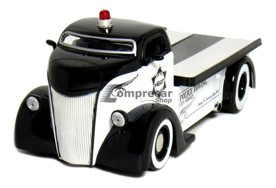 Miniatura Ford Coe Police Badge City Heat 1947 Jada 1/24
