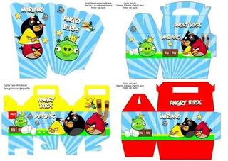 Kit Imprimible De Lujo De Angry Birds