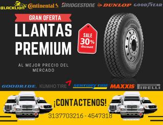 Llantas Premium Todo Tipo De Vehículo, Camiones O Volquetas