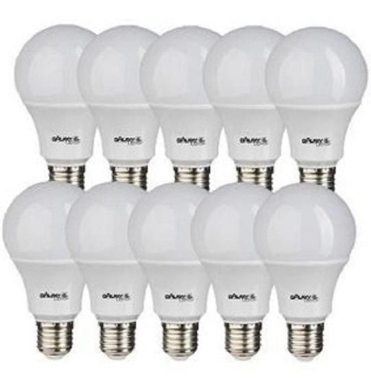 Kit 10 Lampada Led 11w Bulbo E27 Galaxy Led Branca - Inmetro