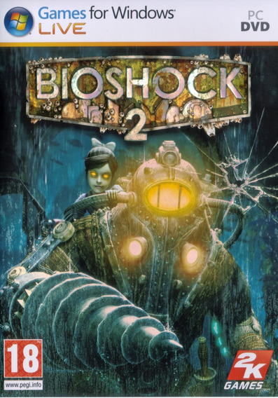 Dvd Bioshock 2 - Lacrado