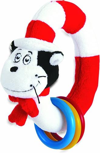 Imagen 1 de 5 de Manhattan Toy Dr. Seuss Gato En El Sombrero Tomar Y Shake -