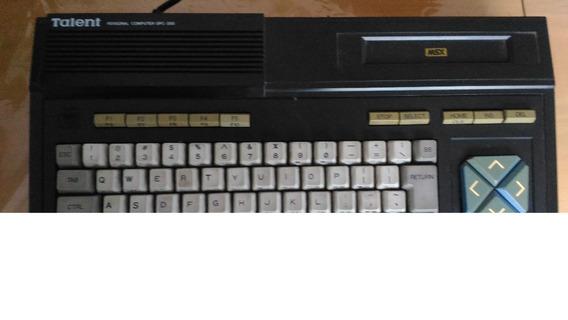 Computadora Talent Msx Dpc-200