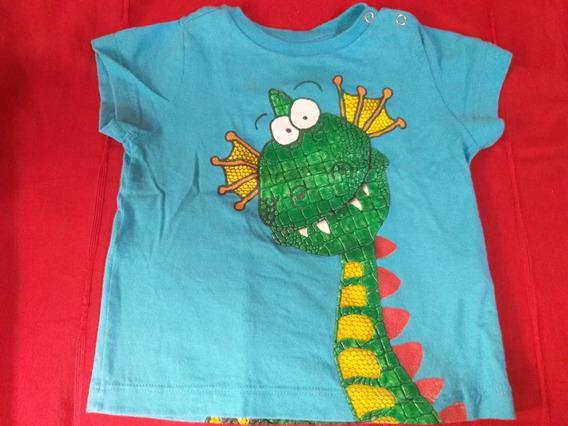 Remera Bebé Grisino Dinosaurio