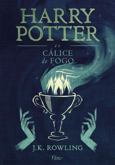 Livro Harry Potter E O Cálice De Fogo Capa Dura